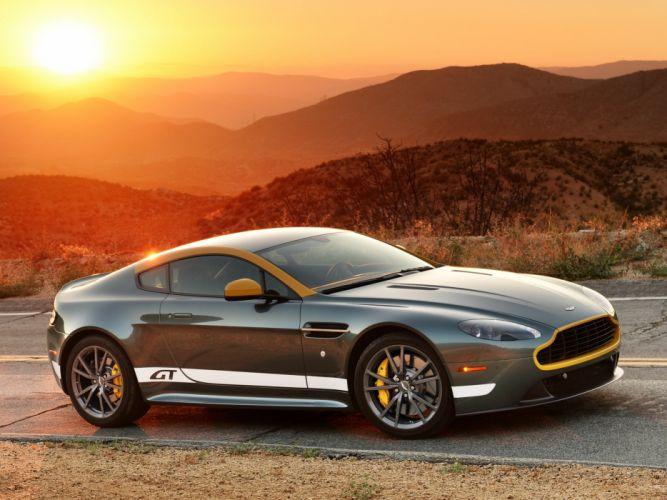 2014 Aston Martin V-8 Vantage G-T d wallpaper