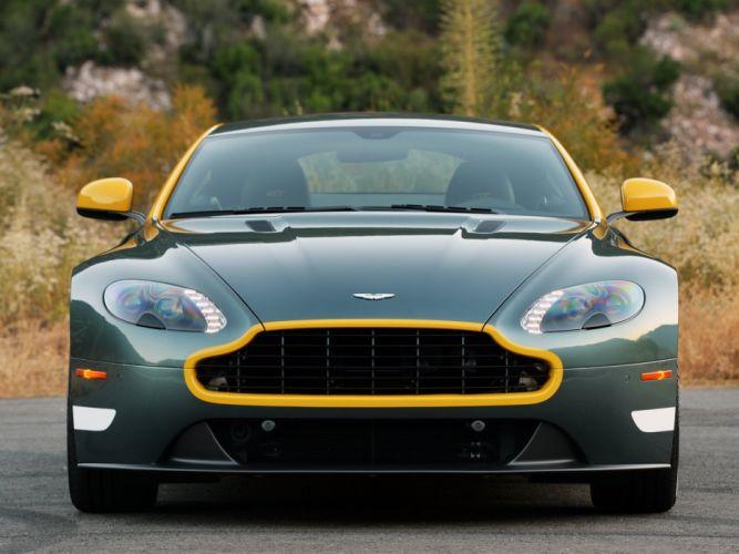 2014 Aston Martin V-8 Vantage G-T ey wallpaper
