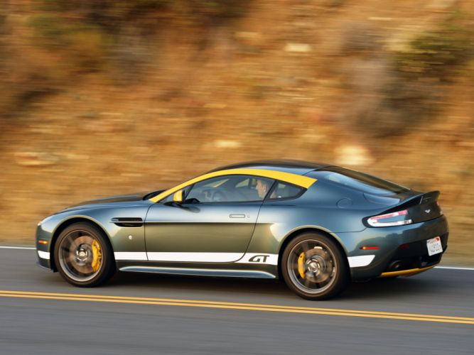2014 Aston Martin V-8 Vantage G-T f wallpaper