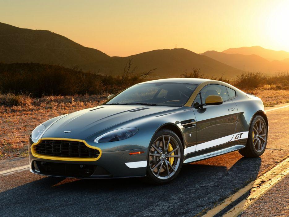 2014 Aston Martin V-8 Vantage G-T fa wallpaper