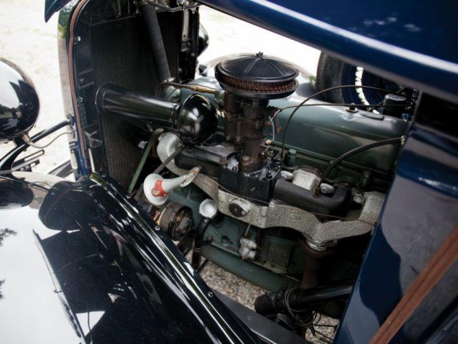 1934 Chevrolet Closed-Cab Pickup (D-B) retro (5) wallpaper