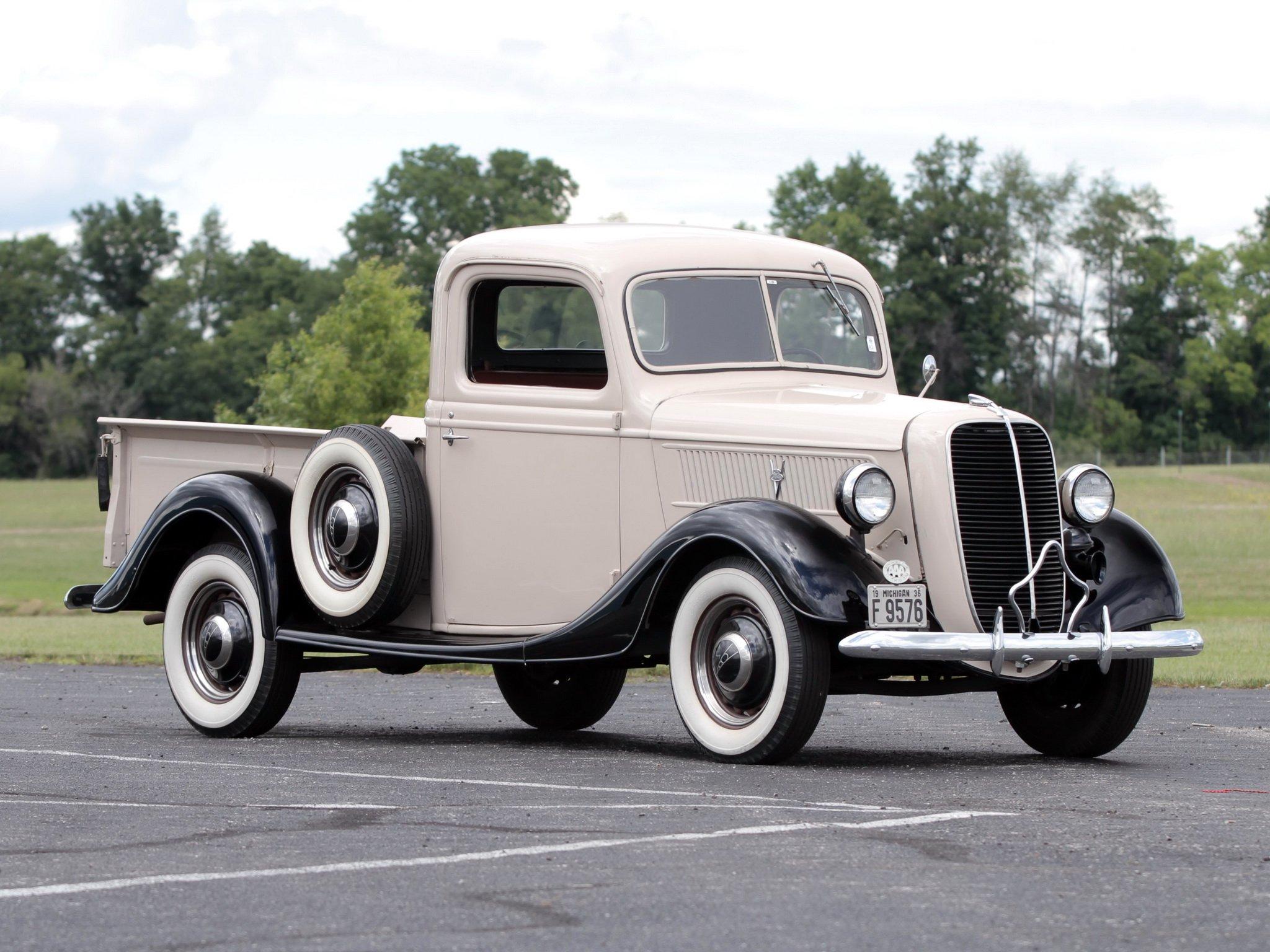 1937 Ford V 8 Deluxe Pickup 77 830 Retro 1 Wallpaper