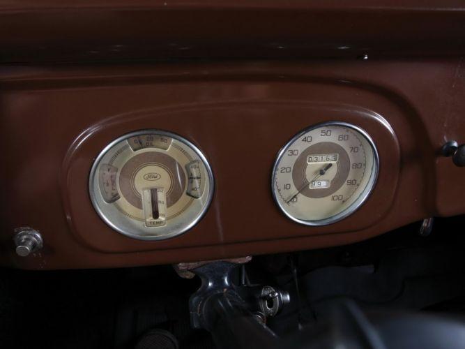 1937 Ford V-8 Deluxe Pickup (77-830) retro (8) wallpaper