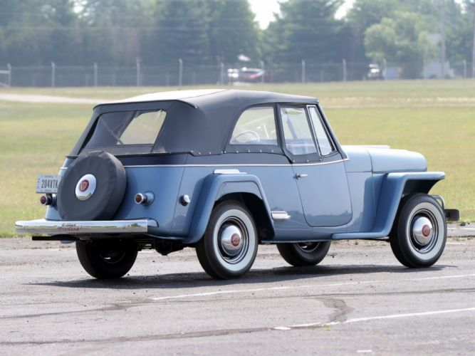 1948 Willys Overland Jeepster (V-J) jeep retro (3) wallpaper