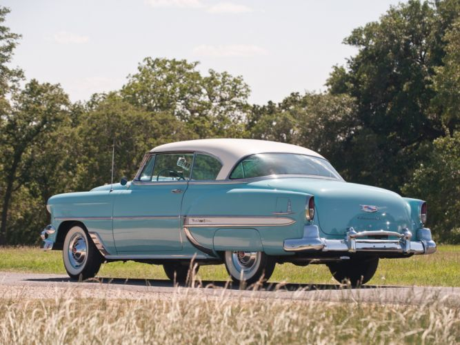 1954 Chevrolet Bel-Air Sport Coupe (C-2454-1037D) bel air retro (1) wallpaper