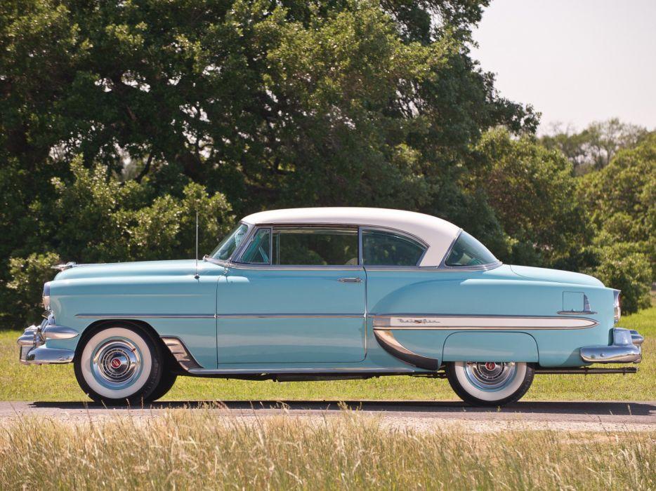 1954 Chevrolet Bel-Air Sport Coupe (C-2454-1037D) bel air retro (2) wallpaper