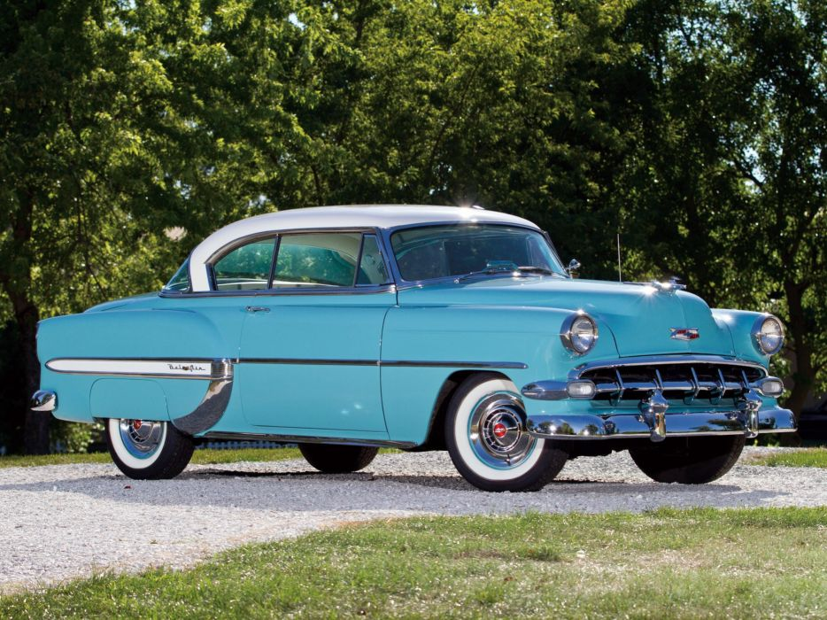 1954 Chevrolet Bel-Air Sport Coupe (C-2454-1037D) bel air retro (5) wallpaper