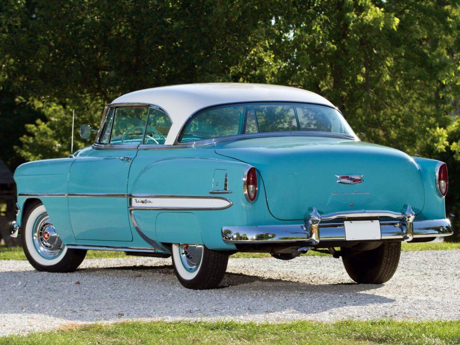 1954 Chevrolet Bel-Air Sport Coupe (C-2454-1037D) bel air retro (6) wallpaper