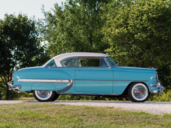 1954 Chevrolet Bel-Air Sport Coupe (C-2454-1037D) bel air retro (7) wallpaper