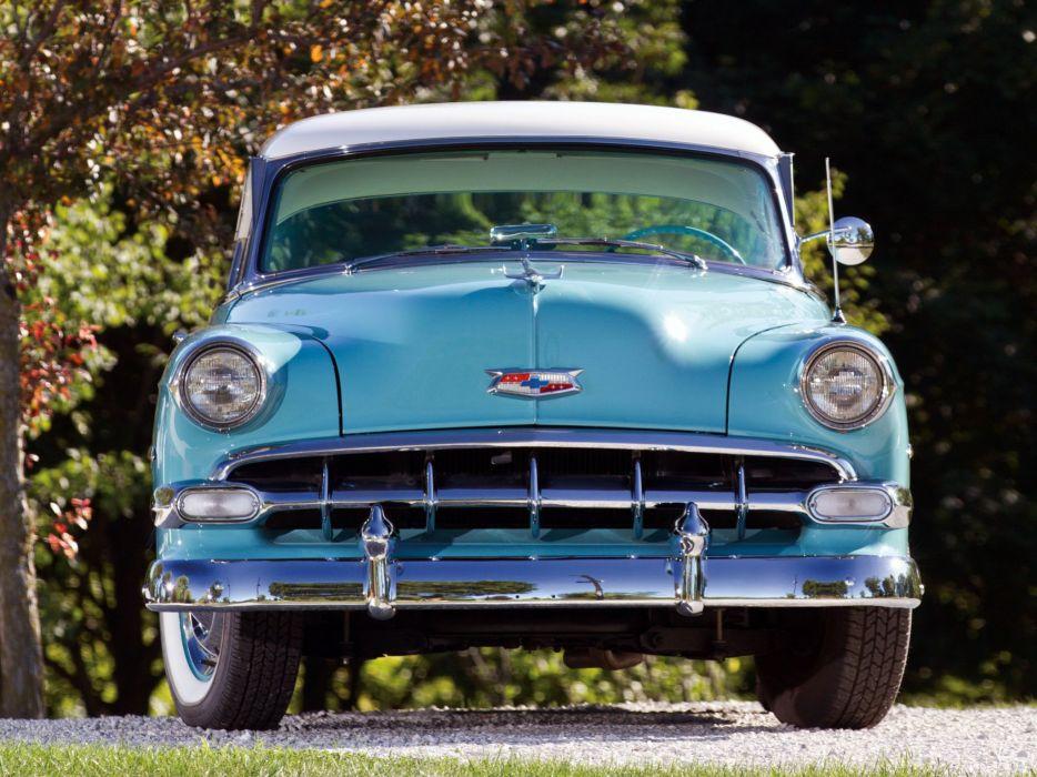 1954 Chevrolet Bel-Air Sport Coupe (C-2454-1037D) bel air retro (8) wallpaper