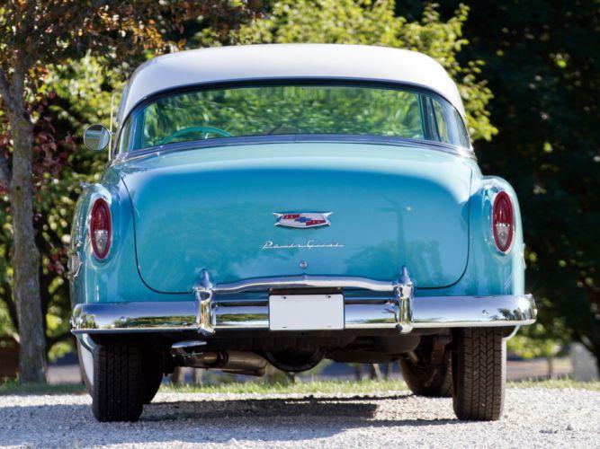 1954 Chevrolet Bel-Air Sport Coupe (C-2454-1037D) bel air retro (9) wallpaper