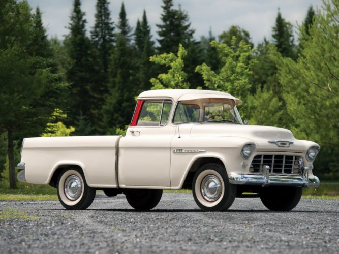 1955 Chevrolet 3100 Cameo Carrier Suburban Pickup H255