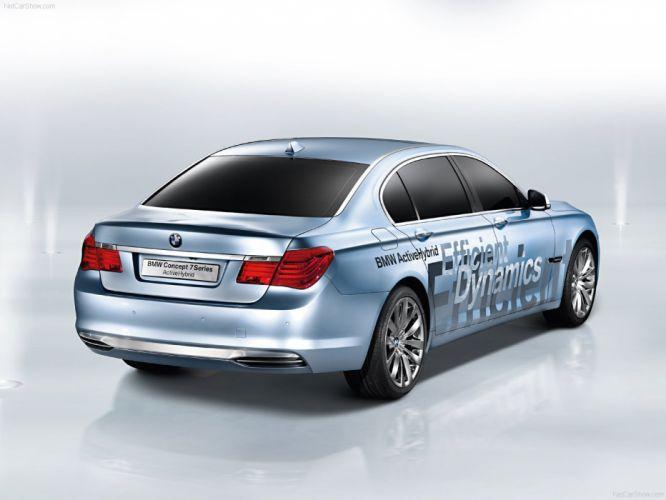 BMW 7-Series ActiveHybrid Concept 2008 wallpaper