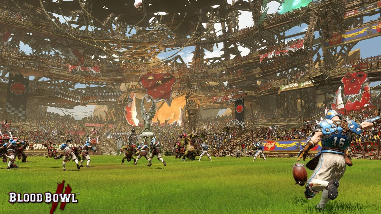 BLOOD-BOWL football sports strategy blood bowl action fantasy (11) wallpaper