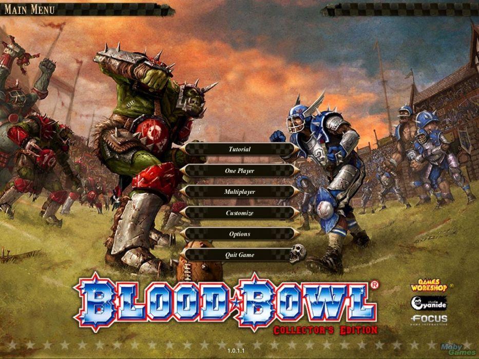 BLOOD-BOWL football sports strategy blood bowl action fantasy (47) wallpaper