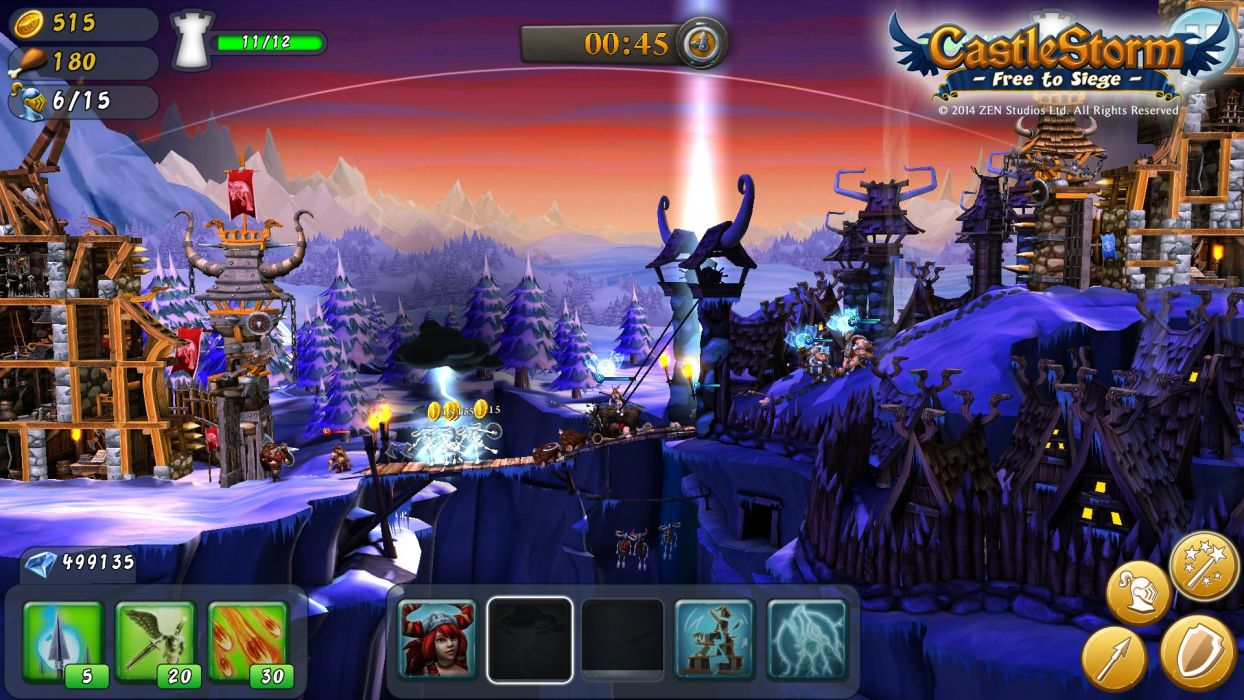 CASTLESTORM 2-d strategy real-time fantasy physics destruction fighting (10) wallpaper