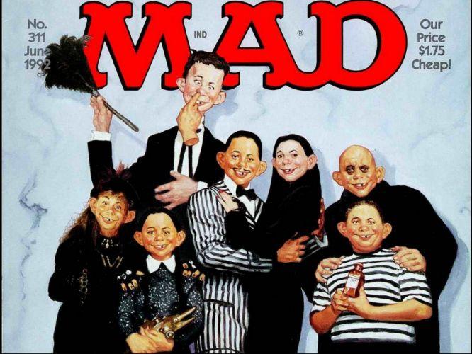 MAD sadic comics humor funny poster wallpaper