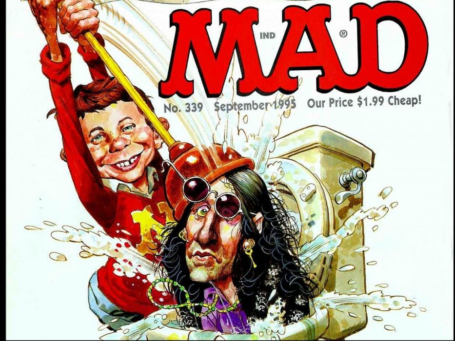 MAD sadic comics humor funny poster wallpaper