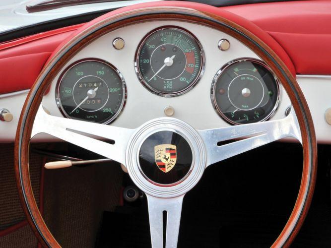 1956 Porsche 356A 1500 G-S Carrera Speedster Reutter (T-1) 356 retro e wallpaper