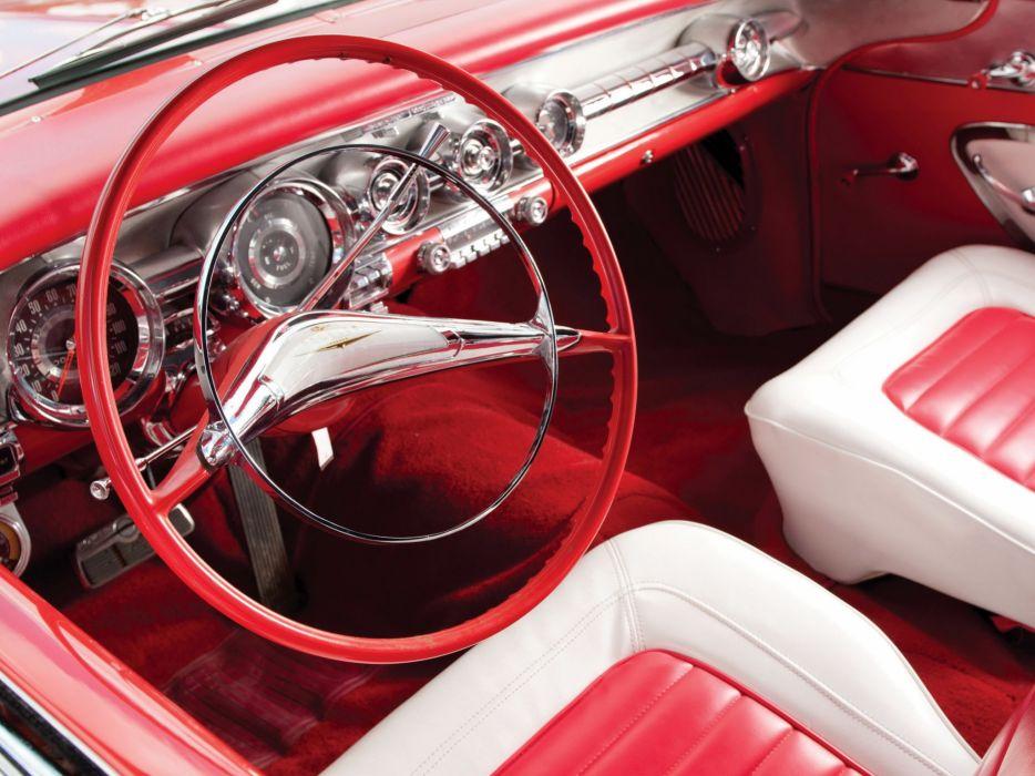 1958 Pontiac Bonneville Custom Convertible (2567SD) retro (4) wallpaper