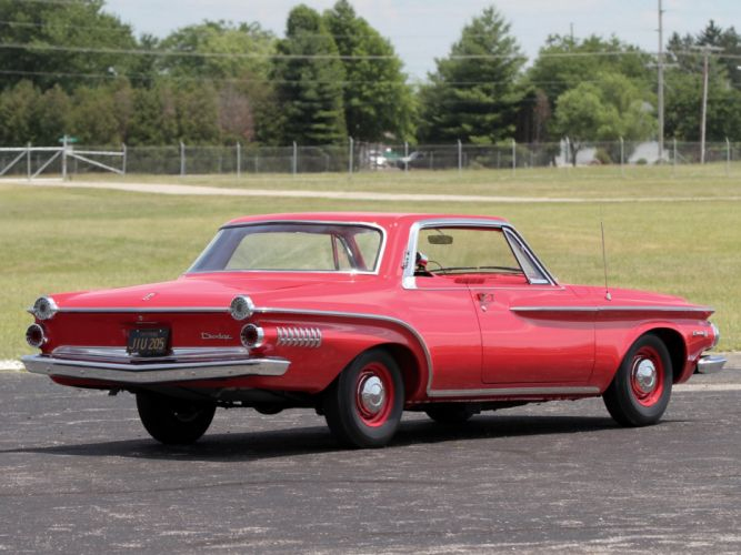 1962 Dodge Dart 440 413 415HP Max-Wedge Hardtop Coupe (SD2H-532) muscle classic s wallpaper