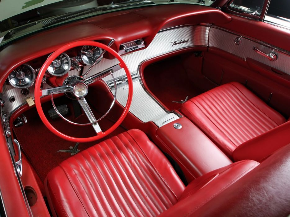 1962 Ford Thunderbird Sports Roadster (76B) classic luxury d wallpaper