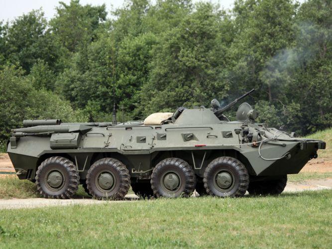 Russian BTR-80 armored apc military f wallpaper