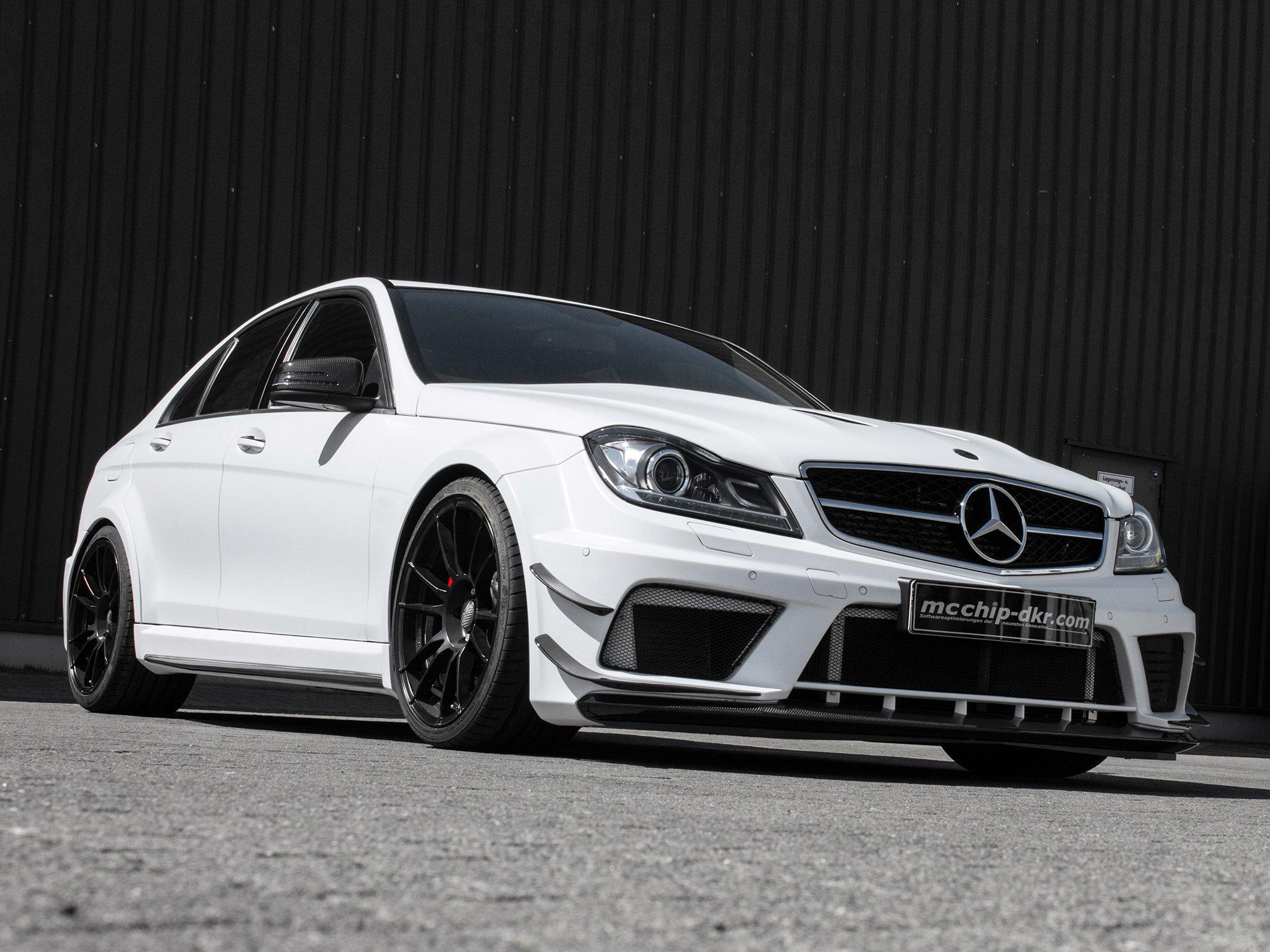 Тюнинг автомобилей Mercedes C-class кузов W2 4