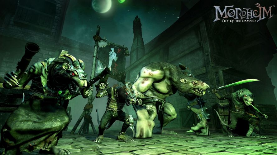 MORDHEIM warhammer rpg fighting tactical sci-fi fantasy (1) wallpaper