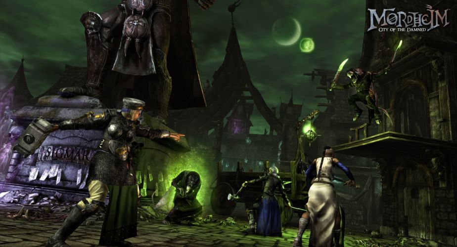 MORDHEIM warhammer rpg fighting tactical sci-fi fantasy (11) wallpaper