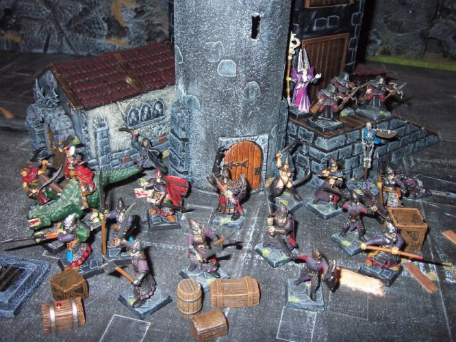 MORDHEIM warhammer rpg fighting tactical sci-fi fantasy (14) wallpaper