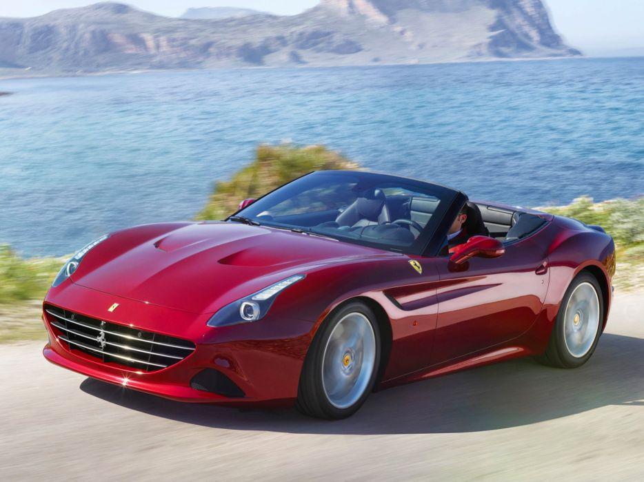 2014 Ferrari California-T supercar california (17) wallpaper