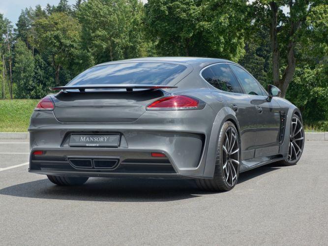 2014 Mansory Porsche Panamera (970) f wallpaper