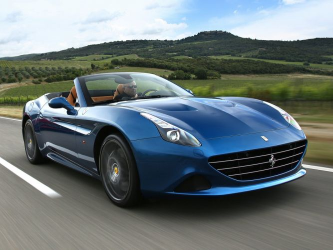 2014 Ferrari California-T supercar california (5) wallpaper
