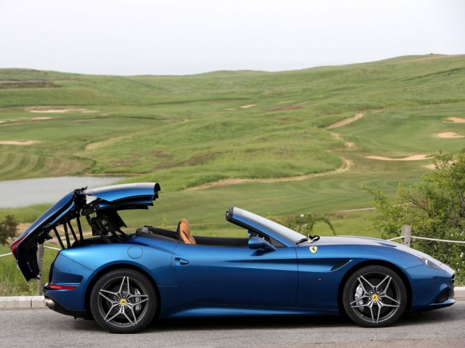 2014 Ferrari California-T supercar california (8) wallpaper