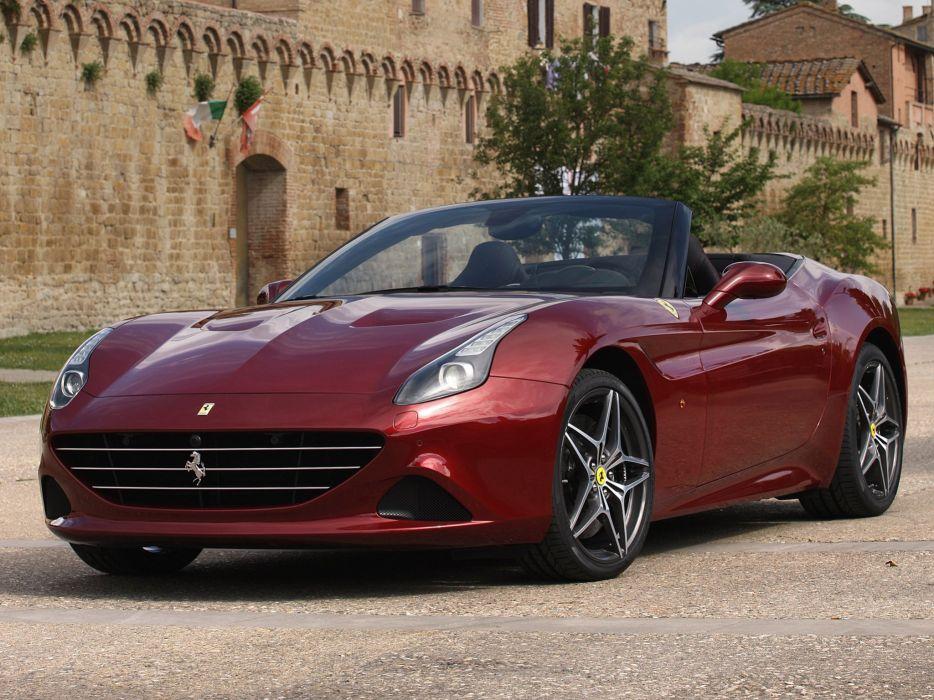 2014 Ferrari California-T supercar california (9) wallpaper