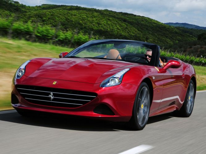2014 Ferrari California-T supercar california (3) wallpaper