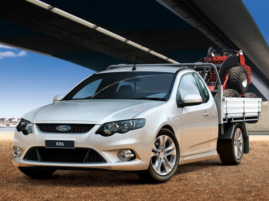2008 Ford Falcon XR6 Ute Cab Chassis (F-G) pickup f wallpaper