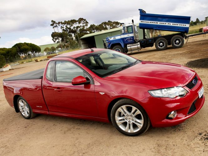 2008 Ford Falcon XR6 Ute (F-G) pickup (5) wallpaper