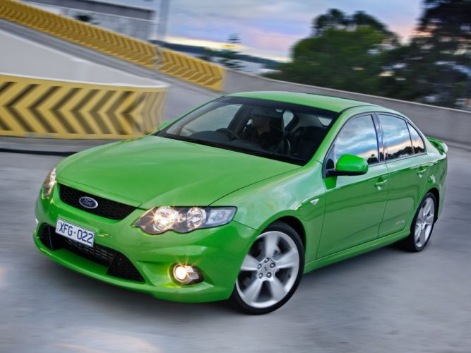 2008 Ford Falcon XR6 Turbo (F-G) (7) wallpaper