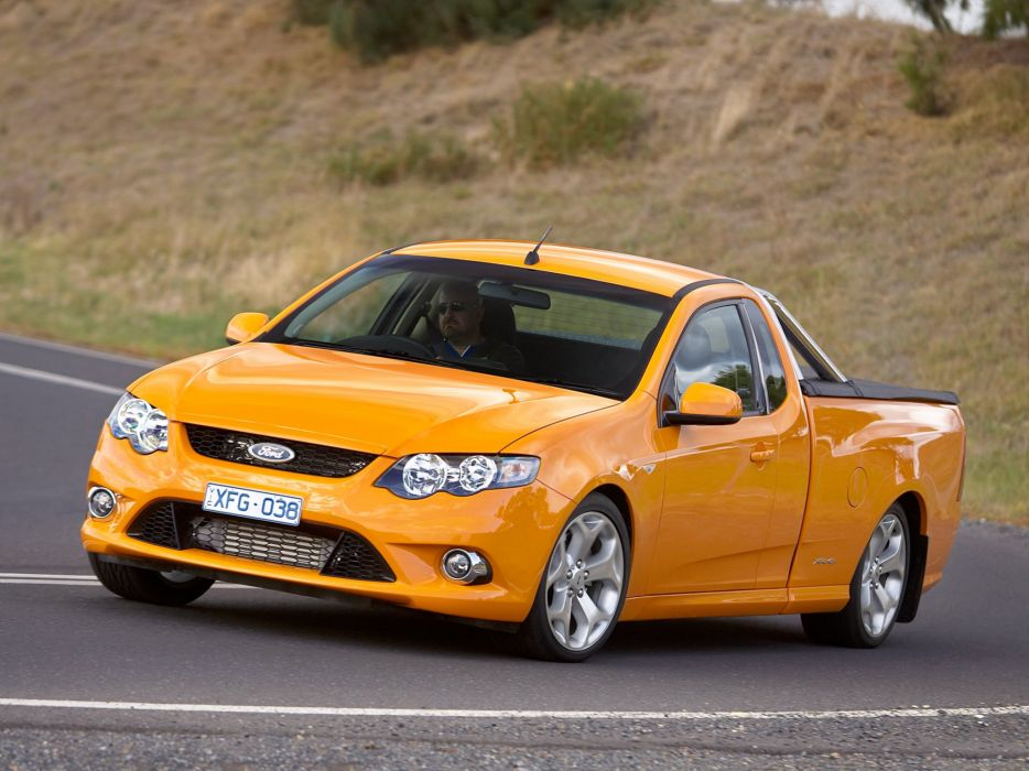 2008 Ford Falcon XR6 Turbo Ute (F-G) pickup (4) wallpaper