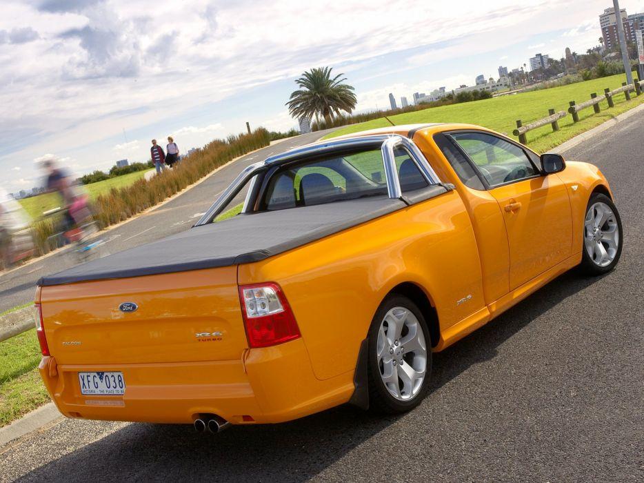 2008 Ford Falcon Xr6 Turbo Ute F G Pickup 5 Wallpaper