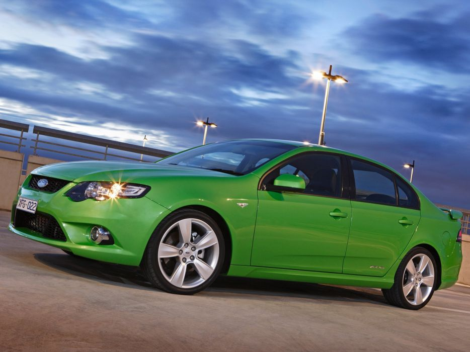 2008 Ford Falcon XR6 Turbo (F-G) (2) wallpaper