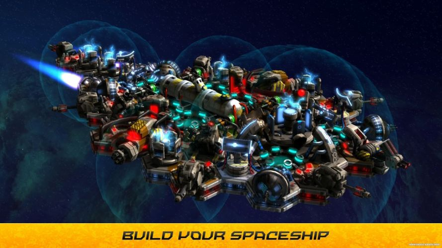SPACE-RUN strategy sci-fi real-time spaceship space run (1) wallpaper