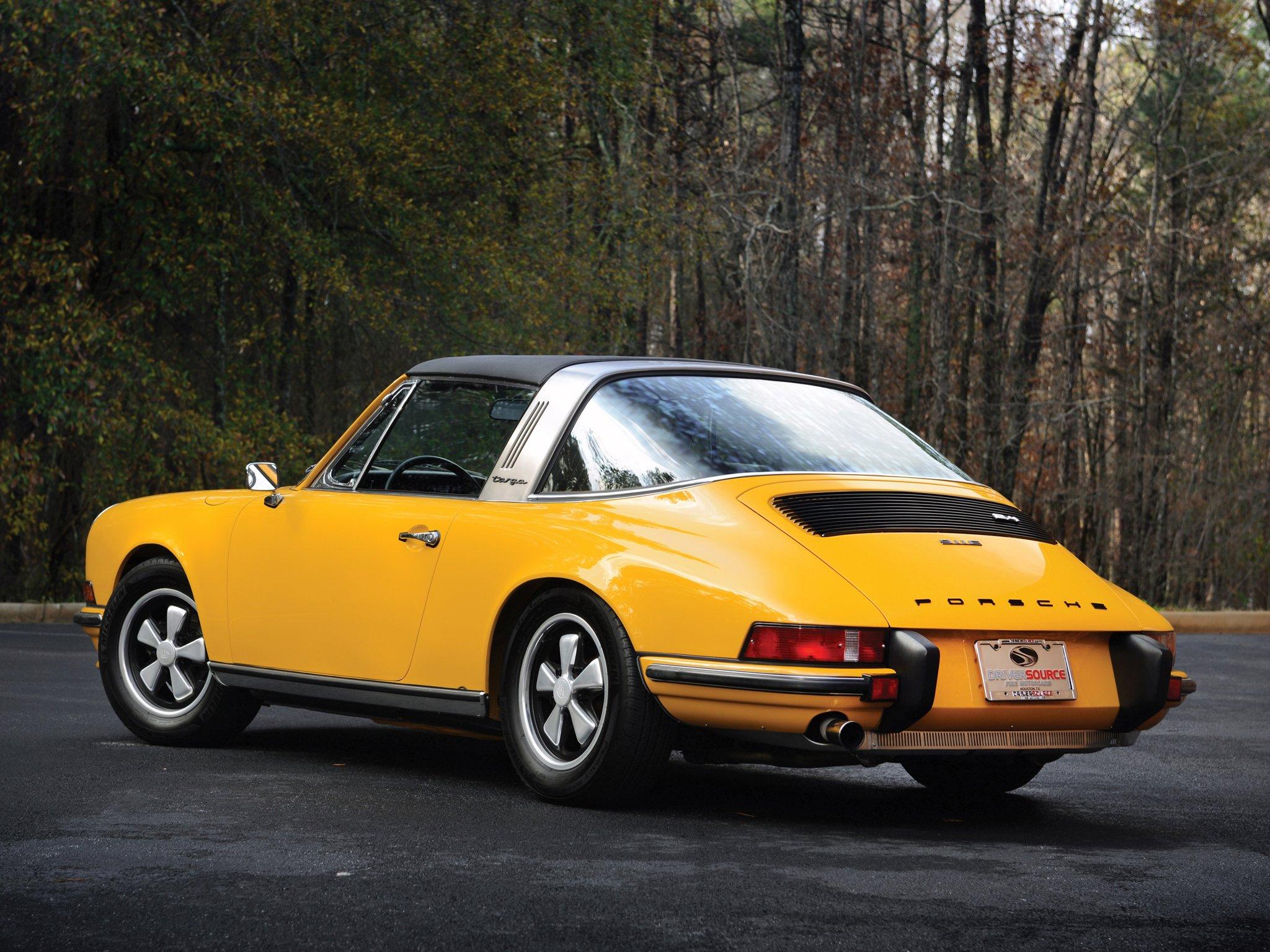 1968 Porsche 911 Soft-Window Targa   Uncrate  Classic Porsche Targa