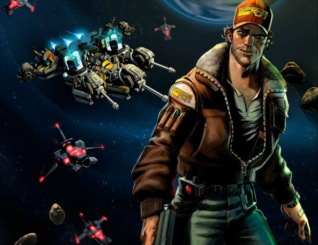 SPACE-RUN strategy sci-fi real-time spaceship space run (3) wallpaper