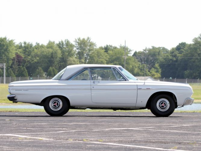 1964 Plymouth Sport Fury 426 Max-Wedge Stage-III Hardtop Coupe (VP2-P-342) muscle classic h wallpaper