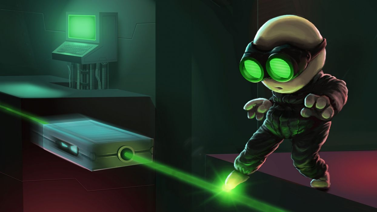 STEALTH-BASTARD 2-D platform tactical sci-fi family stealth bastard (6) wallpaper