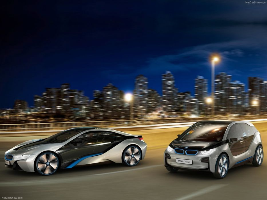 2011 BMW Concept i 3 wallpaper