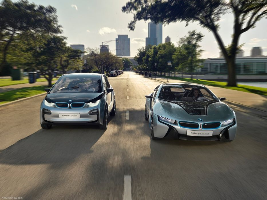 2011 BMW Concept i 3 wallpaper